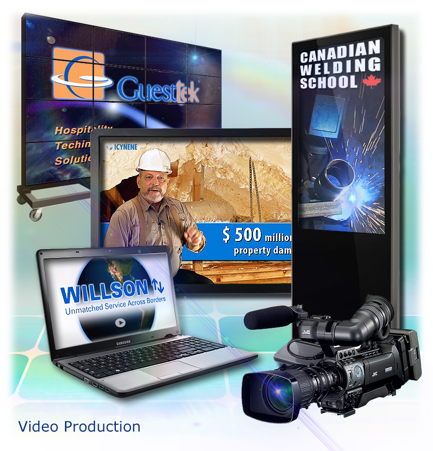 Trade Show Displays, training - educational, broadcast television production